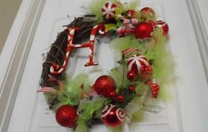 Lien permanent vers L'atelier-concours custo #1 : la couronne de Noël
