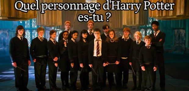 Test – Quel personnage d'Harry Potter es-tu ?