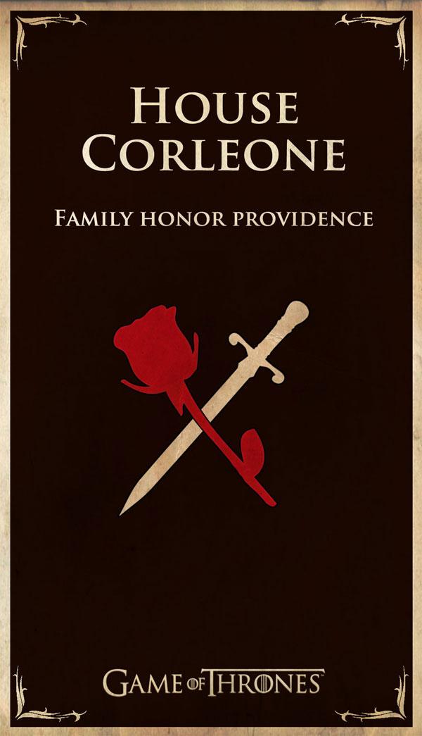 Pop Culture House Flags : des pavillons pour tous vos héros corleone