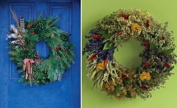 Latelier concours custo #1 : la couronne de Noël couronnes2
