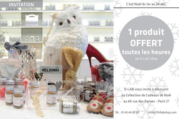 Un Full Size D Lab offerte toutes les heures jusquau 24 décembre dlab