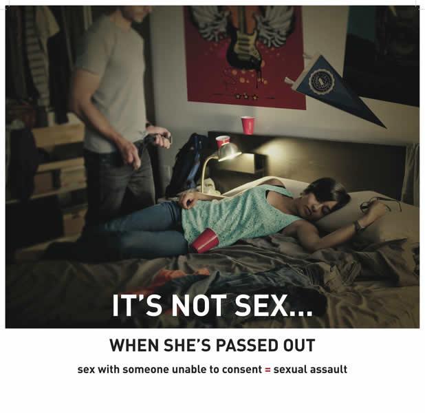 Nouvelle campagne contre le viol Edmonton-campagne-lit