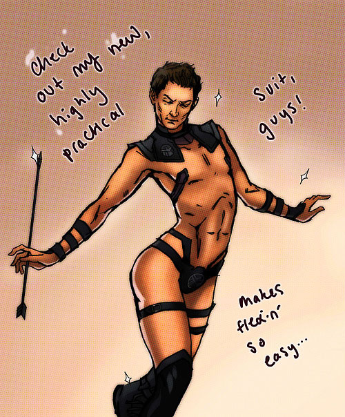 The Hawkeye Initiative, le Tumblr qui répare le sexisme des comics heyo2