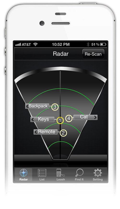 Le radar à objets perdus   Idée cadeau cool #3 iphone