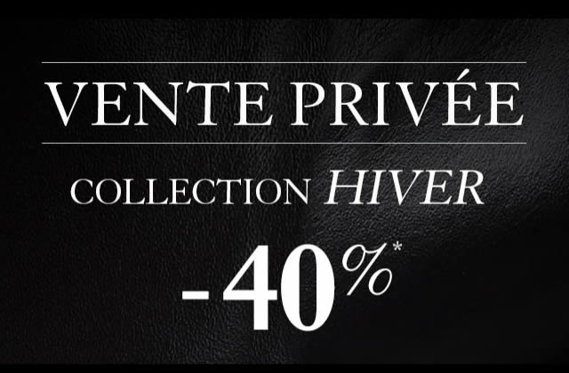 Profitez de ventes privées 2013 juste avant les soldes !