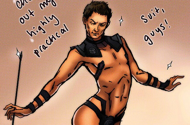 The Hawkeye Initiative, le Tumblr qui répare le sexisme des comics