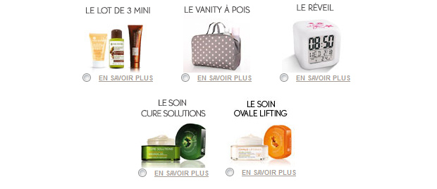 Cadeau Yves Rocher Des cadeaux en bonus avec les soldes beauté !