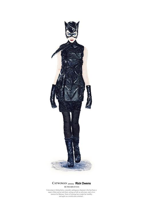 Catwoman Les héros de cinéma aussi font les soldes !