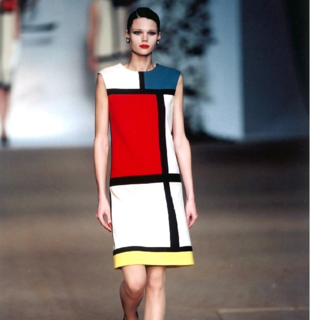 Yves Saint Laurent   Un créateur en 5 minutes Mondrian dress