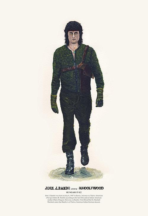 Rambo1 Les héros de cinéma aussi font les soldes !