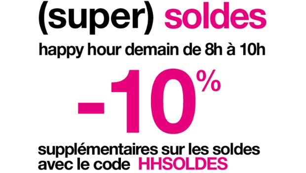 Soldes : 10% supplémentaires chez La Halle aux Chaussures et Jennyfer Soldes Jennyfer