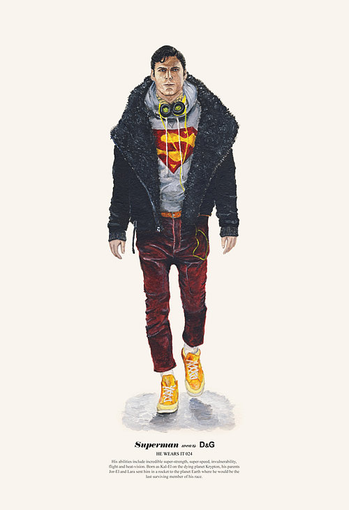 Superman Les héros de cinéma aussi font les soldes !