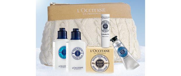 Trousse L Occitane Des cadeaux en bonus avec les soldes beauté !