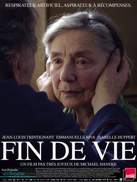 amour Des affiches de film nommés aux César détournées