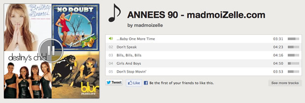 annees90spotify La playlist Spotify de Mai : nos années 90s !