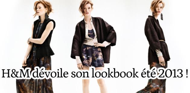 H&M dévoile son lookbook été 2013 !