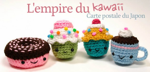 L'empire du kawaii – Carte postale du Japon