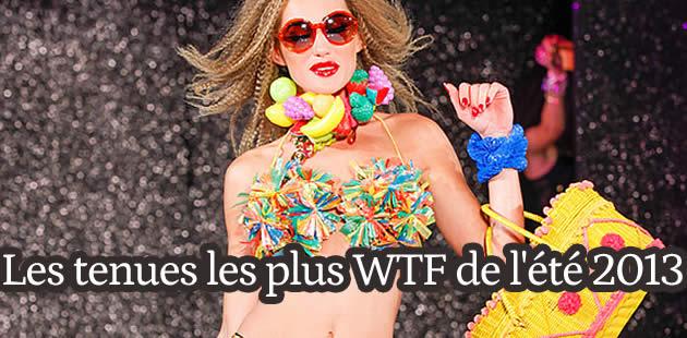 Les tenues les plus WTF de l'été 2013