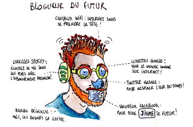 Interview de Cham, cyborg du net parmi les humanoïdes (Finaliste Révélation Blog BD)