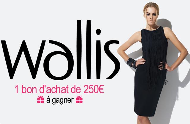 Concours : un bon d'achat Wallis de 250€ à gagner !