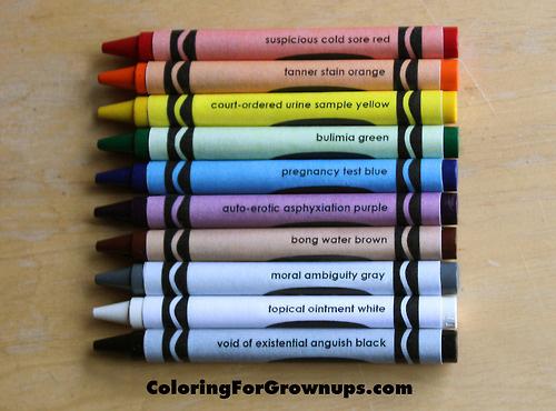 crayons Découvrez le coloriage pour adultes !
