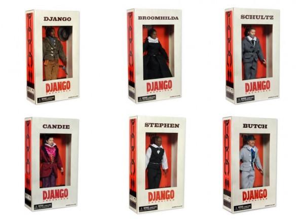 Django Unchained : des figurines font polémique django