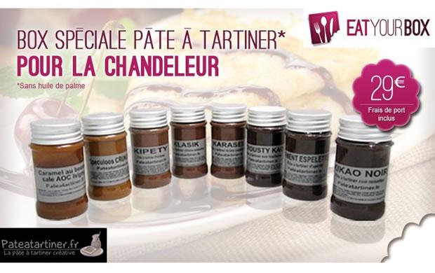 Une box spéciale Chandeleur chez Eatyourbox eatchandeleur
