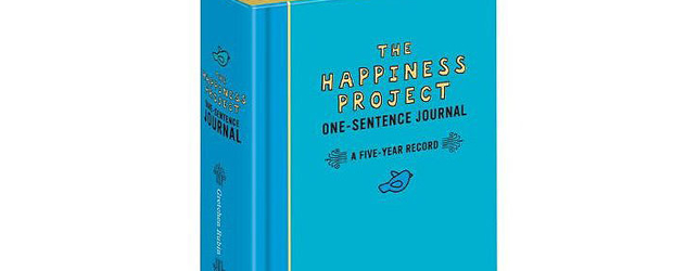journal intime the happiness project