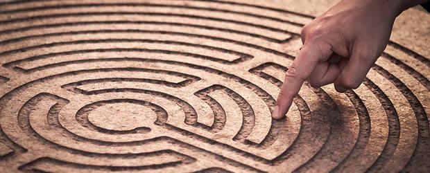 labyrinthe La prise de repères   La petite vie (pro) dAlmira