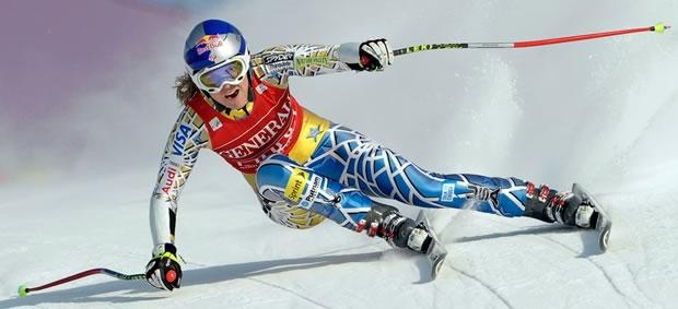 lindseyvonn Le ski alpin   Les madmoiZelles & leur sport