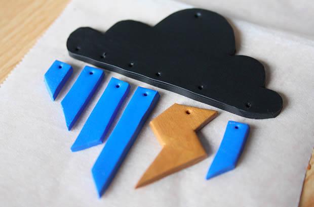 meteo5 Tuto   Un pendentif météo en Fimo