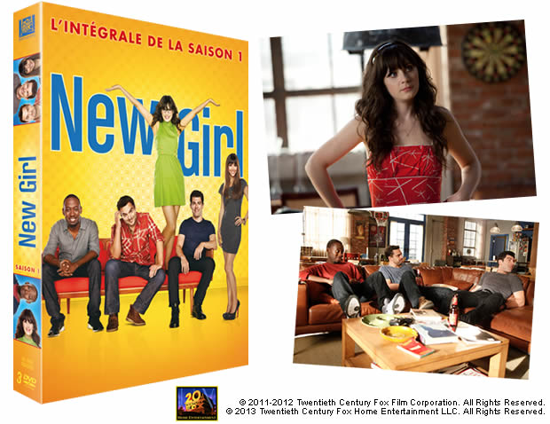 New Girl saison 1 : 20 coffrets DVD à gagner ! newgirl2