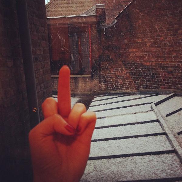 niquetamerelaneige Moi jaime pas la neige (la confession du jour)