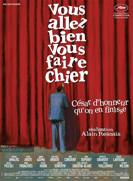 resnais Des affiches de film nommés aux César détournées