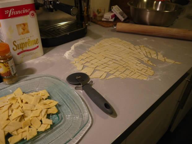 Pâtes faites maison : conseils & idées ! roulette
