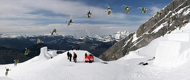 skifreestyle Le ski alpin   Les madmoiZelles & leur sport