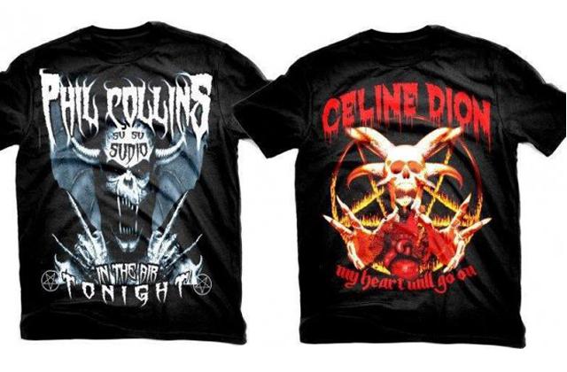 Un t-shirt métal en hommage à Céline Dion – WTF mode