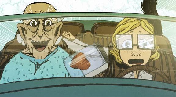 Cadaver : le court métrage animé, avec Tavi Gevinson tavi1