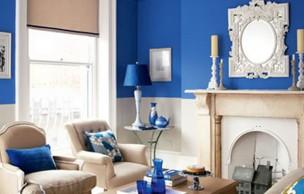 Lien permanent vers Tendance déco 2013 – Du bleu à tous les étages
