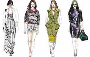 Lien permanent vers Les tendances mode printemps/été 2013