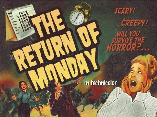 the return of monday Les trouvailles dInternet pour bien commencer la semaine #112