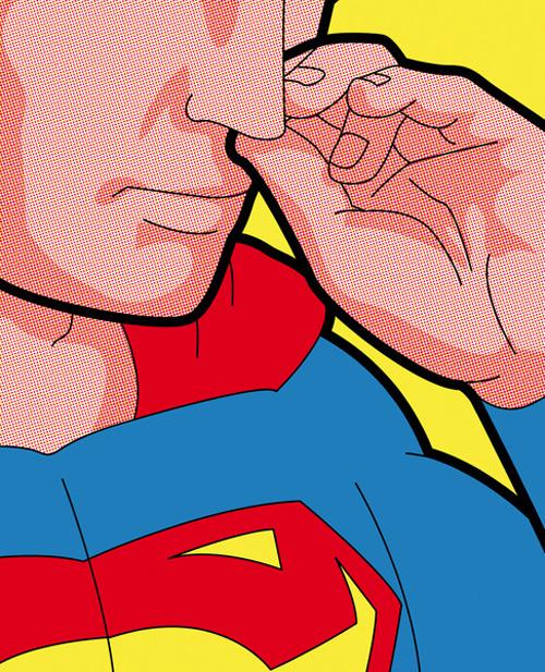 La vie secrète des super héros : de superbes illustrations tuveuxmondoigt