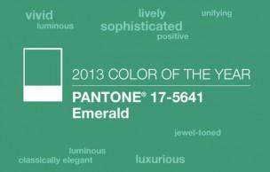 Lien permanent vers Sélection déco – Vert émeraude, couleur de l'année 2013 par Pantone