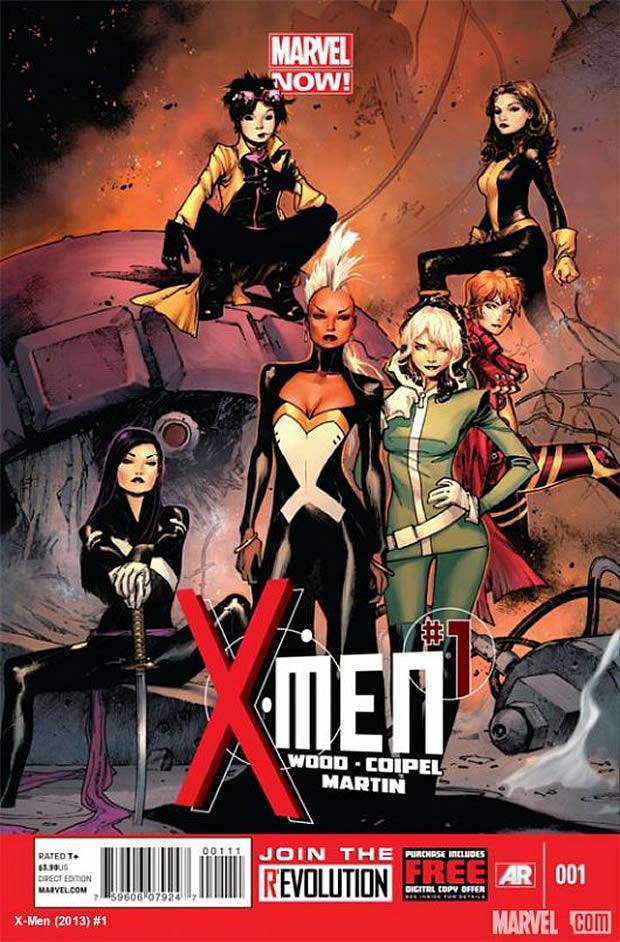 xmennow Une équipe X Men 100% féminine débarque chez Marvel !