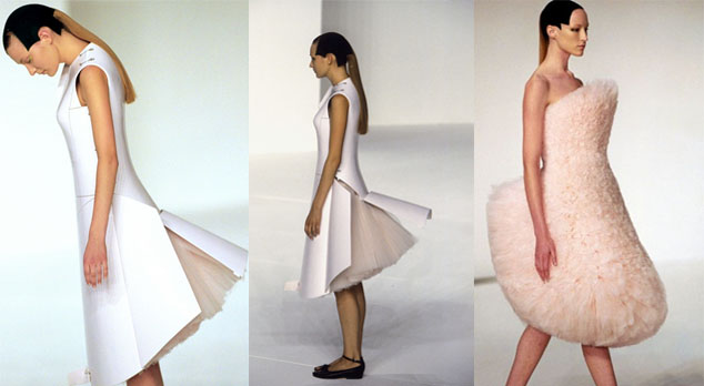 Airplane Dress Hussein Chalayan   Un créateur en 5 minutes
