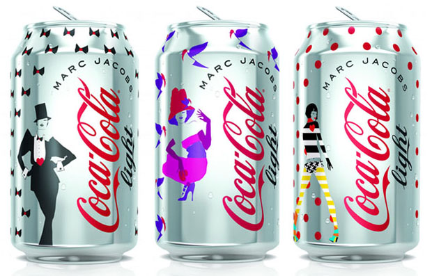 Marc Jacobs x Coca Cola : les canettes collector ! Coca1