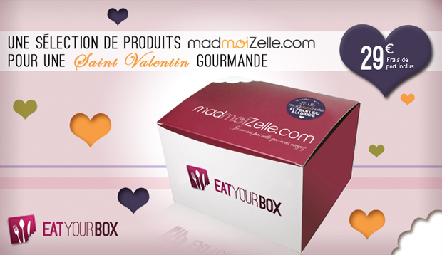 madmoiZelle lance sa toute première box gourmande! [épuisée] Madmoizelle Box St Valentin1