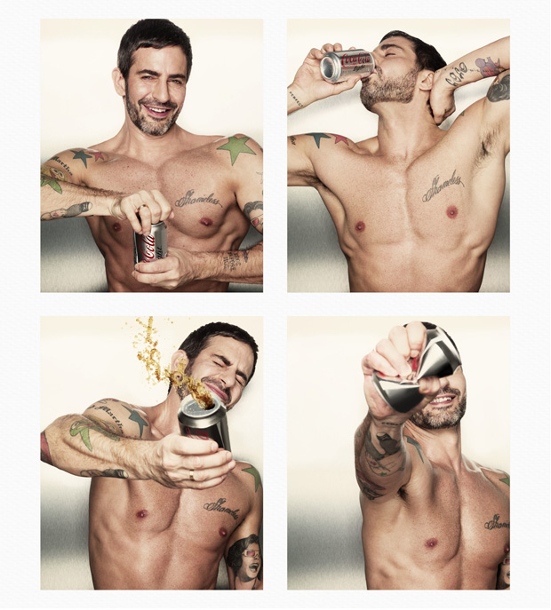 Marc Jacobs x Coca Cola : les canettes collector ! Marc Jacobs