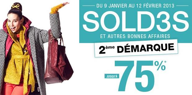 Soldes Hiver 2013 : nos bons plans ! Soldes 3 suisses