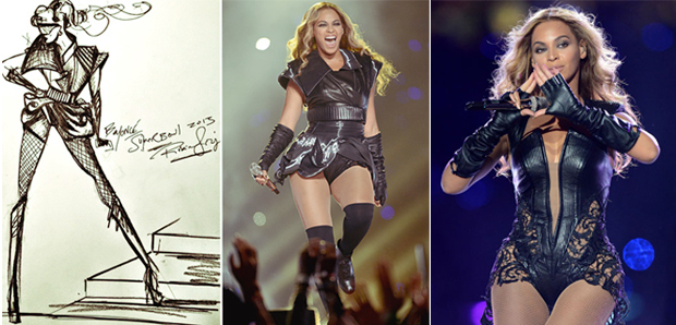 Beyoncé au Super Bowl   Get the Look Tenue